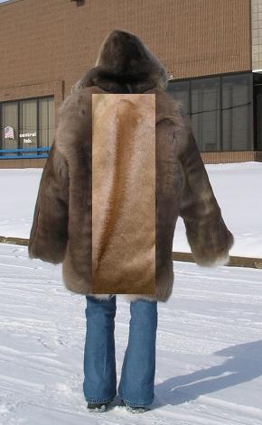 Ridgeback Fur Coat